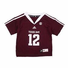 adidas Texas A&m Aggies Infant Maroon No. 12 Football Replica Jersey 24 MO