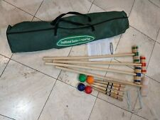 Traditional Garden Games Croquet Set (96cm), hardly used