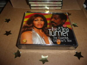 IKE TURNER & TINA: THE ESSENTIAL COLLECTORS BOX,  {3 CD New & Sealed}