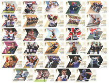 London 2012 Olympic Gold Medal Winners Single Stamps. Each sold separately.