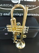 JP by Taylor Lacquer Gold Custom Bb Trumpet- Professional (Heavy Weight)