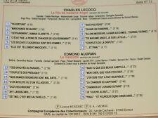 CD / IL ETAIT UNE FOIS L'OPERETTE / FILLE DE MADAME ANGOT / LA MASCOTTE / RARE