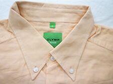 E8032 Olymp Novum Businesshemd Kombimanschette XL apricot meliert Unifarben