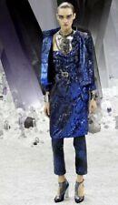 Rare Vtg Chanel 2012 Metallic Dress Sz 40 M