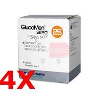 BUYFARMA PROMO PACK - 4X GlucoMen Areo - 100 Strisce Reattive Glicemia + OMAGGIO