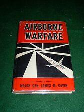 Airborne Warfare - Jas. M. Gavin - Inf. Journal 1947 - Signed 1st HC/DJ - (BX14)