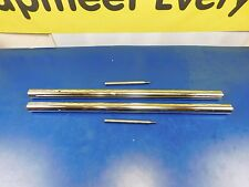 CHROME FRONT END FORK TUBES HONDA 500 AND 1972 & LATER 450 K-5 28""