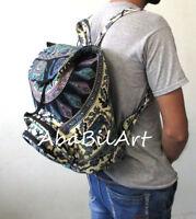 Indian Cotton Hippie Mandala Unisex Bohemian New Men Women Fashion Backpack Bag