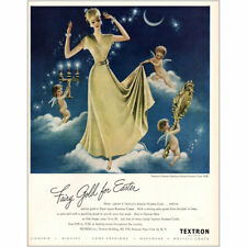 1947 Textron: Fairy Gold for Easter Vintage Print Ad