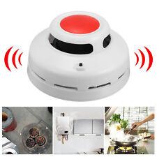 Combination CO & Smoke Detector Carbon Monoxide Sensor Sound Alarm Home Security