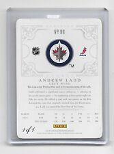 2012-13 Dominion Andrew Ladd True 1/1 #96 Printing Plate