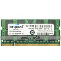 2GB 4GB PC2-6400 DDR2 800mhz 200Pin 1.8v Memory For Mac MacBook iMac MacBook Pro