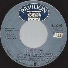 The Edwin Hawkins Singers Oh Happy Day 45 1969 Gospel Soul Pavilion vg++