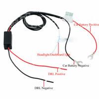 Nuevo controlador DRL Auto coche arnés de relé luz de circulación diurna LED ES