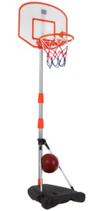 Basketball 170 cm Basketballkörbe Basketballkorb mit Ständer Höhenverstellbar