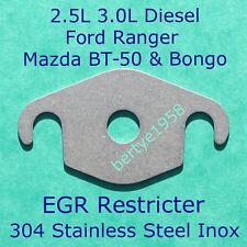 EGR Valve Restricter plate 2.5L 3.0L Mazda BT-50 WLT Ford Ranger MZR-CD Euro4
