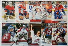PATRICK ROY 2019-20 19-20 Upper Deck 30TH ANNIVERSARY 10 CARD SET