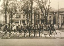 Oriten Ten Seat Bike Avanti America Collection Funny Birthday Card