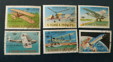 Sao Tomé Principe -1979 Aircrafts - History of Aviation - avion - complet - O