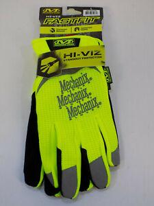 Mechanix Wear The Safety Fastfit Gloves Black / Hi-Viz yellow LARGE 577604753
