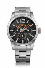 "Hugo Boss BOSS Orange ""Paris"" Stainless Steel Mens Chronograph Watch - 1513238"