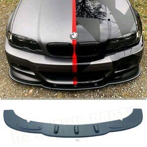 Spoiler Schwert Ansatz Lippe aus ABS passt für BMW E46 M3 Coupe Cabrio incl ABE