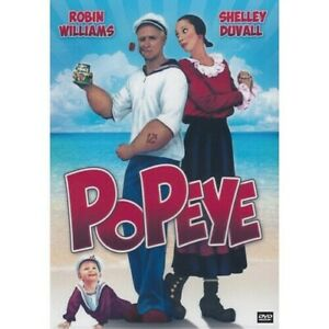 Popeye (All Region Dvd)= Dvd