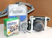 Kit Fotocamera istantanea Fujifilm Instax Wide 300 + borsa + 2 pellicole