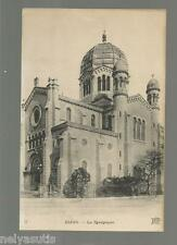 Postcard Dijon, France. La Synagogue