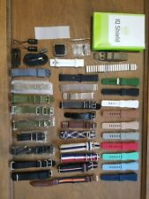 Kickstarter Pebble Time Steel 38mm Stainless Steel with 33 Watchbands
