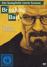BREAKING BAD - 4 DVD - DIE KOMPLETTE VIERTE SEASON