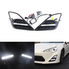 White Led Daytime Running Lamps For Toyota FT86/GT86  Subaru BRZ Scion FR-S