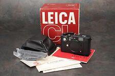 ":Leica CL ""50 Jahre"" 50th Anniversary Edition 35mm Film Rangefinder Camera LNIB"
