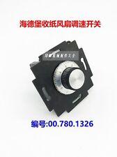 1PCS NEW Fan Speed Switch 00.780.1326 Heidelberg SM102 CD102 #Q6583 ZX