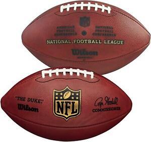 "Wilson ""The Duke"" Official NFL Leather Football - Fanatics"