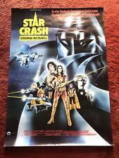 Star Crash Kinoplakat Poster A1, David Hasselhoff, Caroline Munro, Joe Spinell