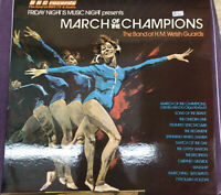 The Band of H.M.Welsh Guards : March Of The Champions LP