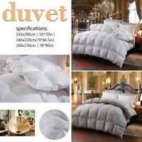 Luxurious Goose Down King Duvet Winter Warm Quilt Comforter Duvet Insert Pro