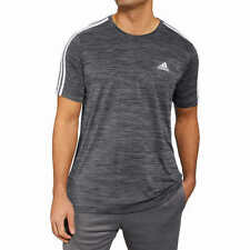 New Mens Adidas Tech T-Shirt - Athletic Gym Shirt - Breathable - FAST FREE SHIP