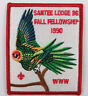 OA Lodge 116 Santee eX1990-4, Fdl; Fall Fellowship [D1750]