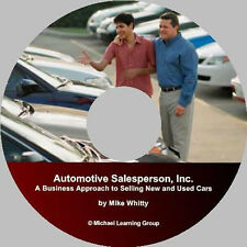Auto Sales Training - Automotive Salesperson, Inc. Seminar Audios