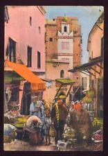 Alger Une rue Arabe la rue Kleber Vintage Unused Postcard