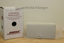 1x Bose Acoustimass 15 Series III Center Horizontal Double Cube in weiß TOP/OVP