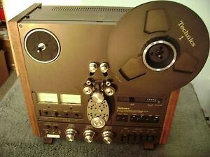 TECHNICS R S 1506  4 TRACK DECK REEL TO REEL