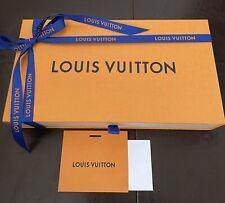 Louis Vuitton Empty Box Drawer Ribbon 9 x 5.75 x 2 Gift Note Card Logo Felicie