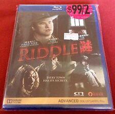 Riddle NEW Blu Ray Region A Val Kilmer Mystery Elisabeth Harnois