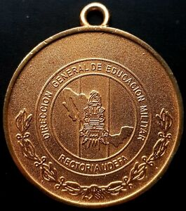 2007 UDEFA DIRECCION GENERAL DE EDUCACION MILITAR MEXICO Medal 70g. VERY NICE!!