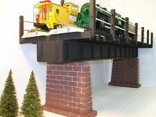 O gauge DOUBLE TRACK GIRDER BRIDGE / Model Railroad Trains / 030 / Train Scenery