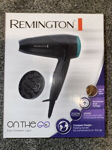 Remington D1500 Compact Travel Hair Dryer 2000W - Black