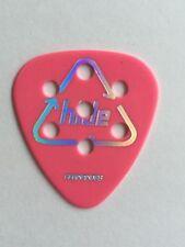 New Guitar Pick FERNANDES P100 HIDE Scanner Pink 0.75mm from JAPAN